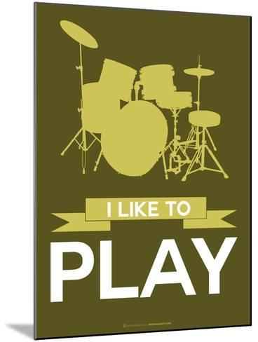 I Like to Play 5-NaxArt-Mounted Art Print