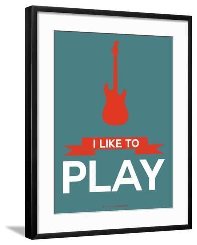I Like to Play 7-NaxArt-Framed Art Print
