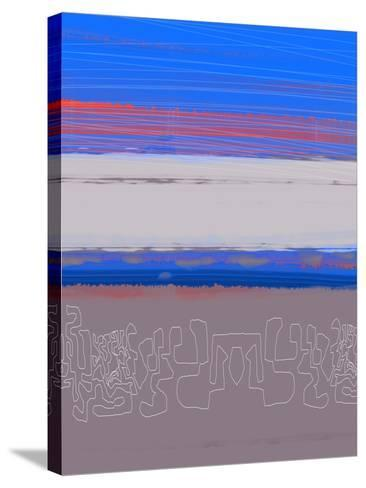 Abstract  Blue View 1-NaxArt-Stretched Canvas Print
