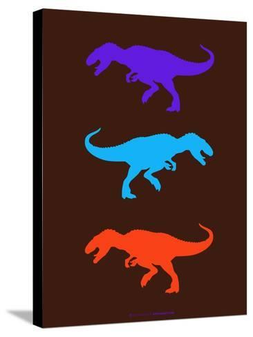 Dinosaur Family 24-NaxArt-Stretched Canvas Print
