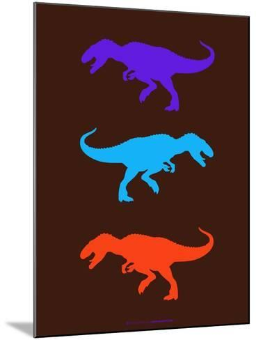 Dinosaur Family 24-NaxArt-Mounted Art Print