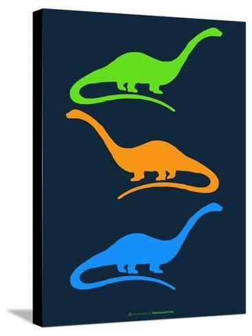 Dinosaur Family 25-NaxArt-Stretched Canvas Print