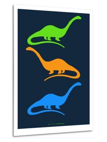 Dinosaur Family 25-NaxArt-Metal Print