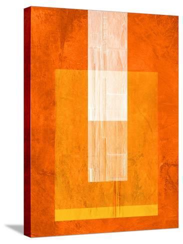 Orange Paper 2-NaxArt-Stretched Canvas Print