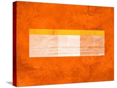 Orange Paper 3-NaxArt-Stretched Canvas Print