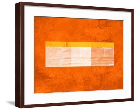 Orange Paper 3-NaxArt-Framed Art Print