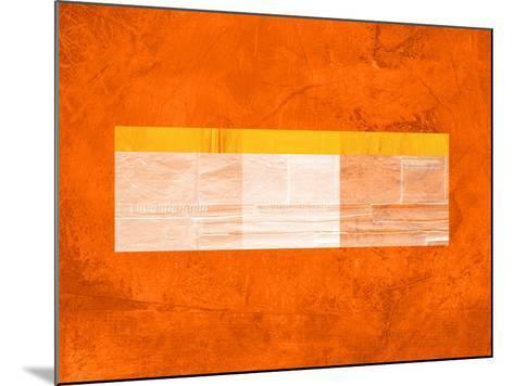 Orange Paper 3-NaxArt-Mounted Art Print