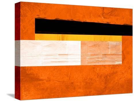 Orange Paper 4-NaxArt-Stretched Canvas Print