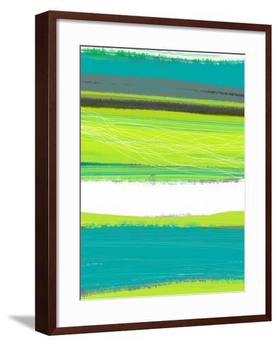 Aquatic Breeze 1-NaxArt-Framed Art Print