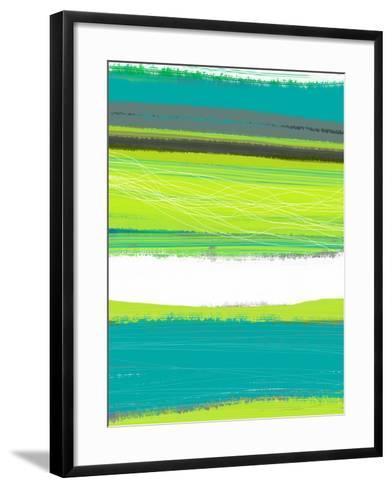 Aquatic Breeze 1-NaxArt-Framed Art Print