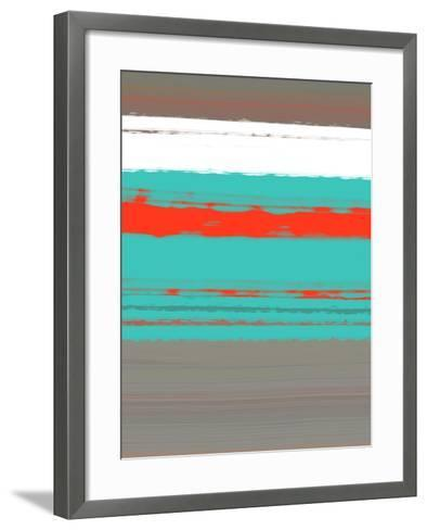 Aquatic Breeze 4-NaxArt-Framed Art Print