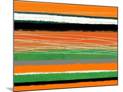 Orange and Green Abstract 3-NaxArt-Mounted Art Print