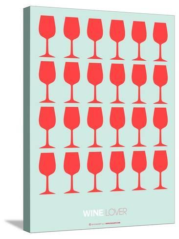 Wine Lover Red-NaxArt-Stretched Canvas Print