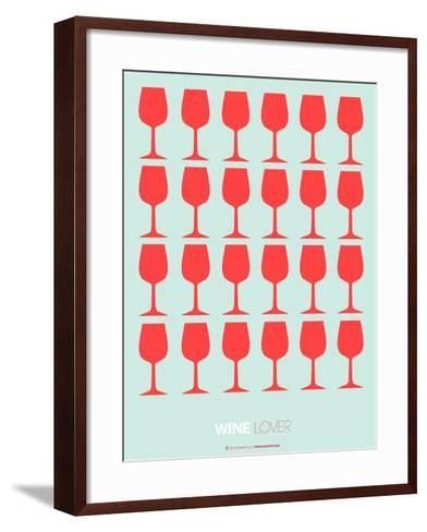 Wine Lover Red-NaxArt-Framed Art Print