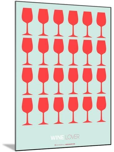 Wine Lover Red-NaxArt-Mounted Art Print