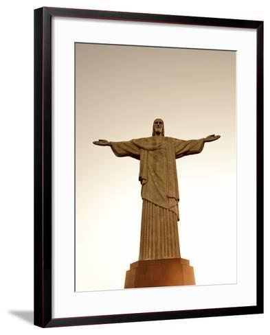 Sbrazil, Rio De Janeiro State, Rio De Janeiro City, Corcovado-Alex Robinson-Framed Art Print