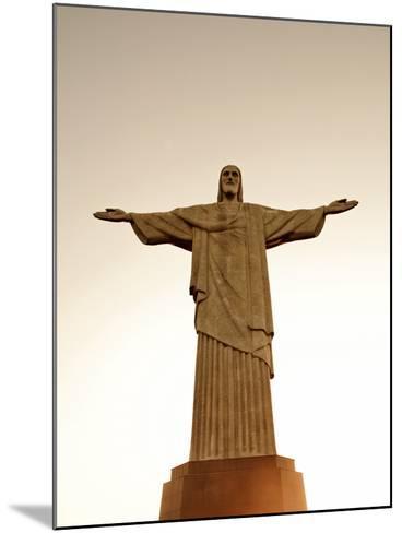 Sbrazil, Rio De Janeiro State, Rio De Janeiro City, Corcovado-Alex Robinson-Mounted Photographic Print