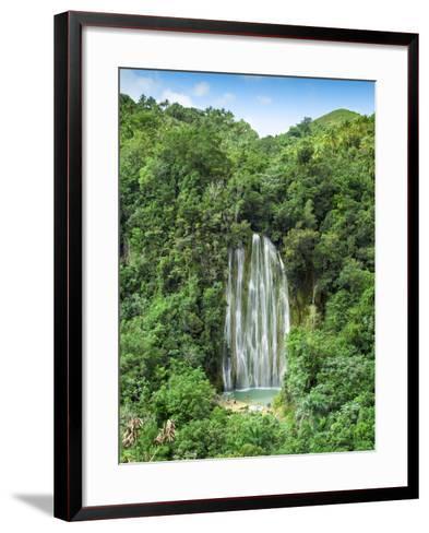 Dominican Republic, Eastern Peninsula De Samana, El Limon Waterfall-Jane Sweeney-Framed Art Print