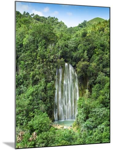 Dominican Republic, Eastern Peninsula De Samana, El Limon Waterfall-Jane Sweeney-Mounted Photographic Print