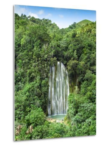 Dominican Republic, Eastern Peninsula De Samana, El Limon Waterfall-Jane Sweeney-Metal Print