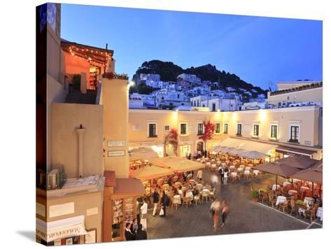 Italy, Campania, Napoli District, Capri-Francesco Iacobelli-Stretched Canvas Print