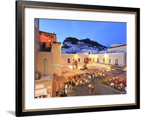 Italy, Campania, Napoli District, Capri-Francesco Iacobelli-Framed Art Print