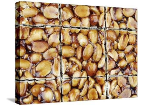 A Homemade Peanut and Caramel Bar-Neil Overy-Stretched Canvas Print