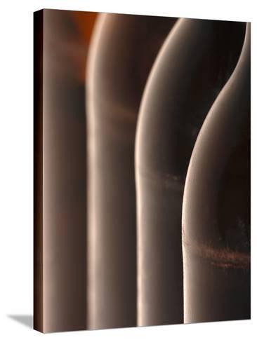 Four Beer Bottles-Chris Sch?fer-Stretched Canvas Print
