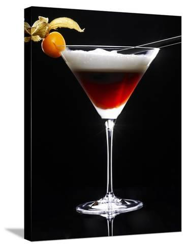Cocktail Made with Coffee Liqueur-Walter Pfisterer-Stretched Canvas Print