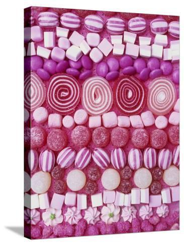 Assorted Pink Sweets-Linda Burgess-Stretched Canvas Print