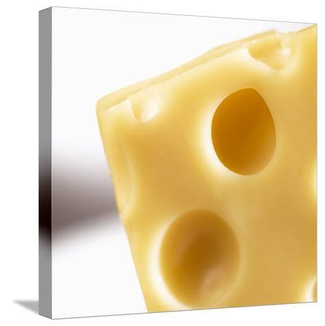 Emmental Cheese--Stretched Canvas Print