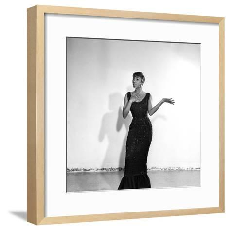 Josephine Premice-Isaac Sutton-Framed Art Print