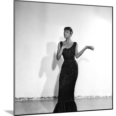 Josephine Premice-Isaac Sutton-Mounted Photographic Print