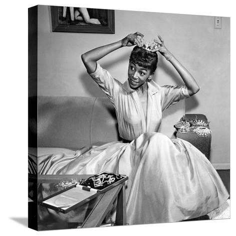 Josephine Premice - 1954-Howard Morehead-Stretched Canvas Print