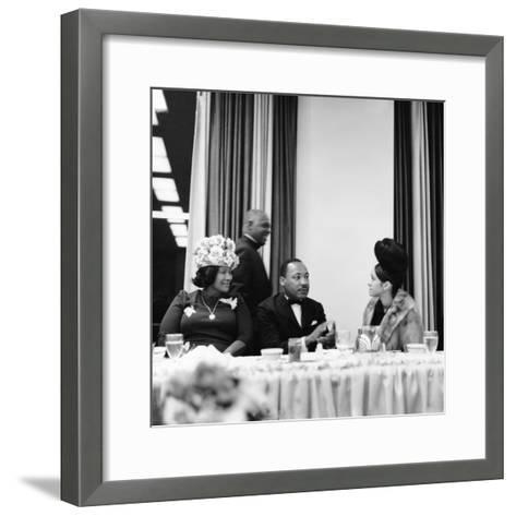 Martin Luther King Jr.-Isaac Sutton-Framed Art Print