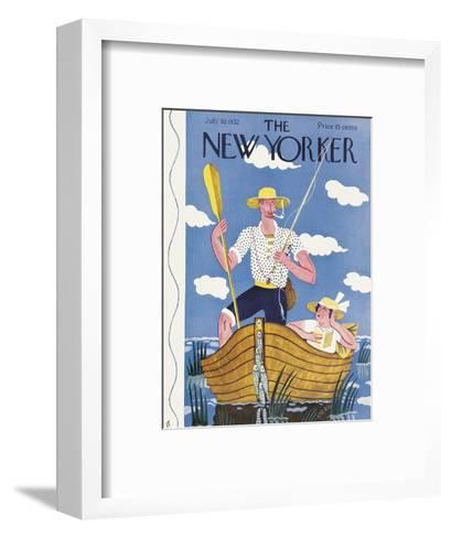 The New Yorker Cover - July 30, 1932-Ilonka Karasz-Framed Art Print