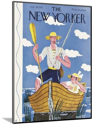 The New Yorker Cover - July 30, 1932-Ilonka Karasz-Mounted Premium Giclee Print