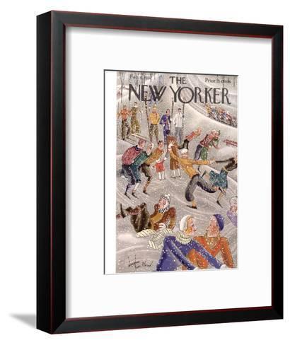 The New Yorker Cover - February 6, 1932-Constantin Alajalov-Framed Art Print