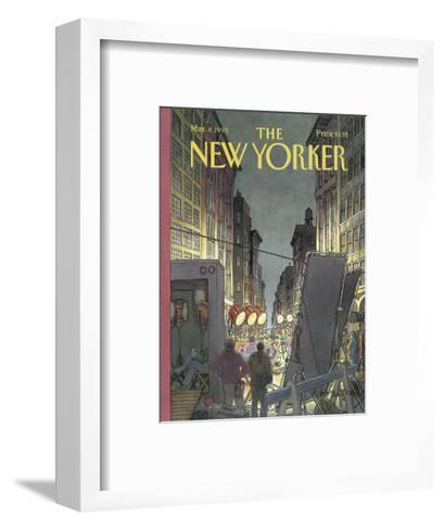 The New Yorker Cover - March 8, 1993-Roxie Munro-Framed Art Print