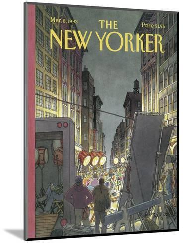 The New Yorker Cover - March 8, 1993-Roxie Munro-Mounted Premium Giclee Print