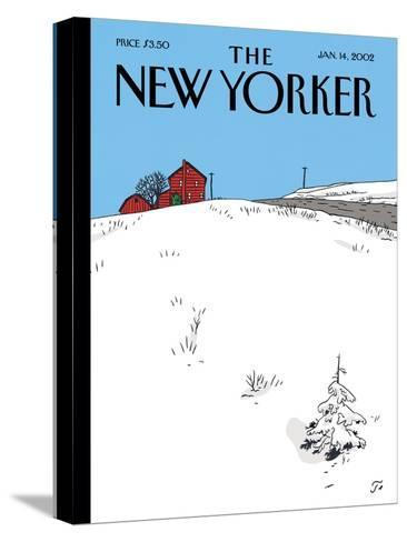 The New Yorker Cover - January 14, 2002-Jean Claude Floc'h-Stretched Canvas Print