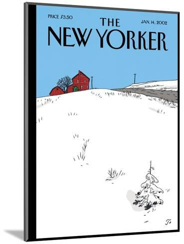The New Yorker Cover - January 14, 2002-Jean Claude Floc'h-Mounted Premium Giclee Print