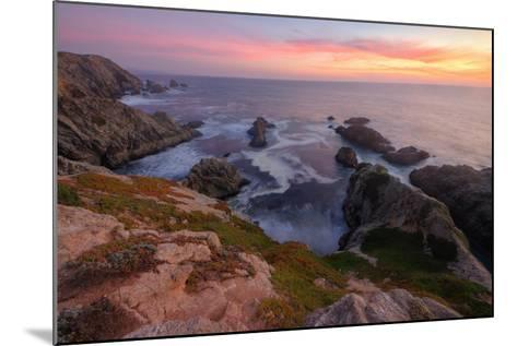 Sunset at Bodega Head-Vincent James-Mounted Photographic Print