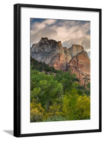 Inside Zion Canyon-Vincent James-Framed Art Print