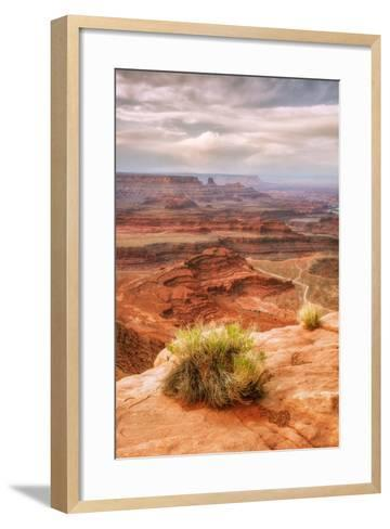 Beautiful Dead Horse Point-Vincent James-Framed Art Print