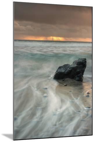Sunset Rock Seascape-Vincent James-Mounted Photographic Print