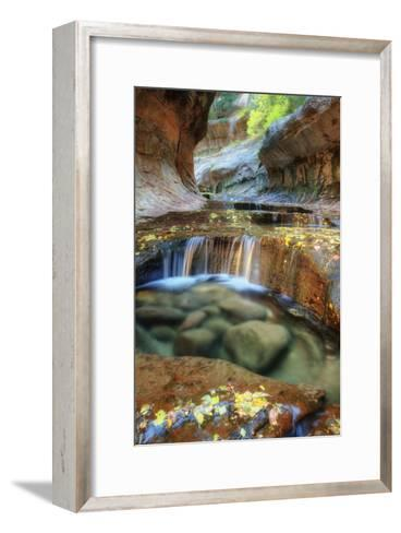 The Unique and Mysterious Subway at Zion-Vincent James-Framed Art Print