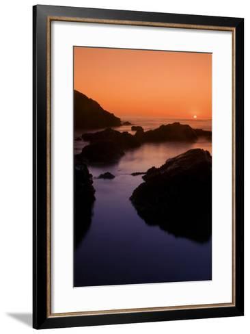 Sonoma Sunset-Vincent James-Framed Art Print