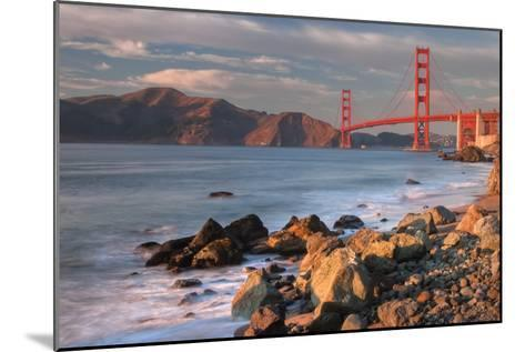Late Afternoon, Baker Beach, San Francisco-Vincent James-Mounted Photographic Print