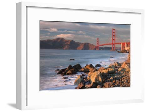 Late Afternoon, Baker Beach, San Francisco-Vincent James-Framed Art Print